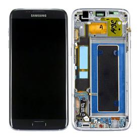 Bloc écran pour Samsung Galaxy S7 Edge (SM-G935F) - Noir